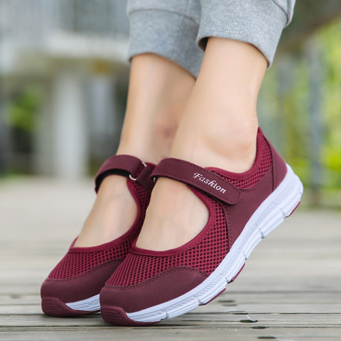 Women's Slip-On Breathable Sneakers