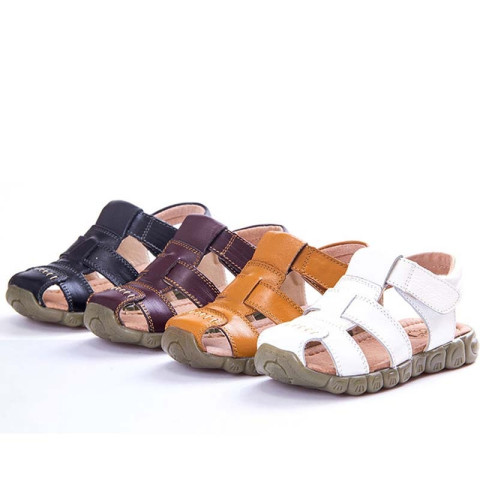 Kids Genuine Leather Outdoor Sport Sandals