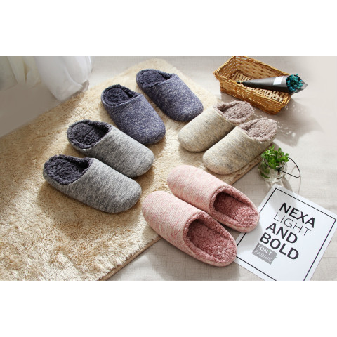 Soft Fleece Plush Home Slippers