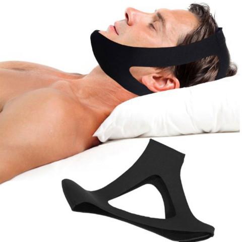 Stop Snoring Sleep Apnea Chin Support Strap