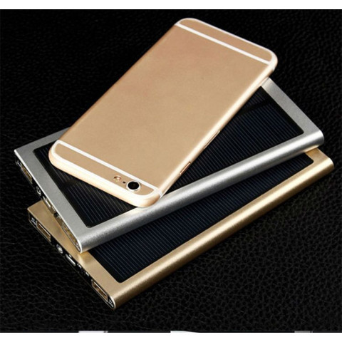 Ultra-thin solar power bank