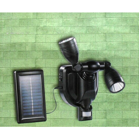 Double Solar LED Lamp