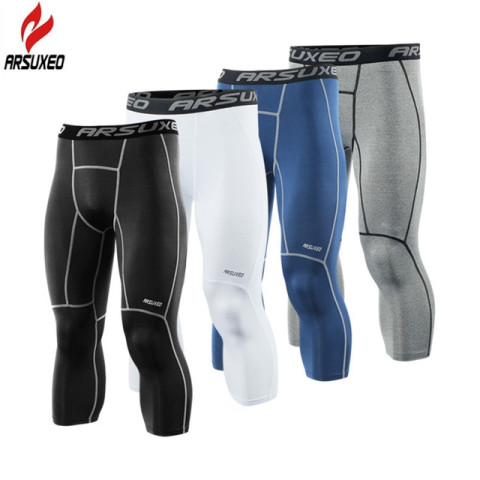 Men's Running Tights Compression Sport Leggings