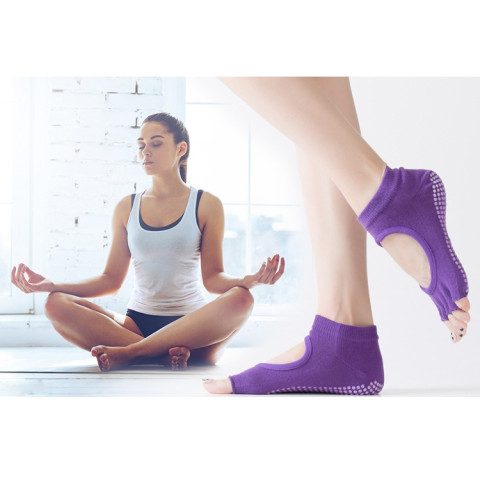Backless Yoga Sock