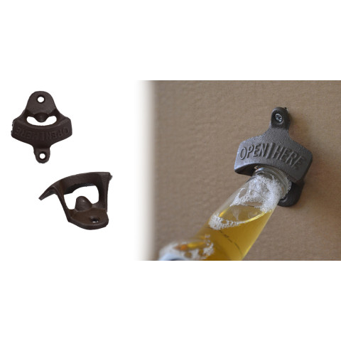 Wall Opener Hanging Hook Beer Bottle Openers