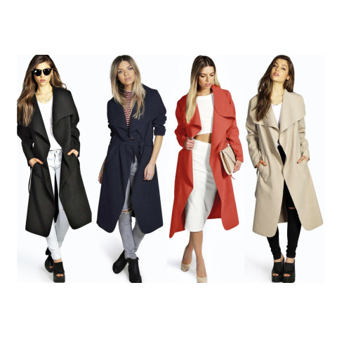 Fashion Women's Windbreaker Winter Coat