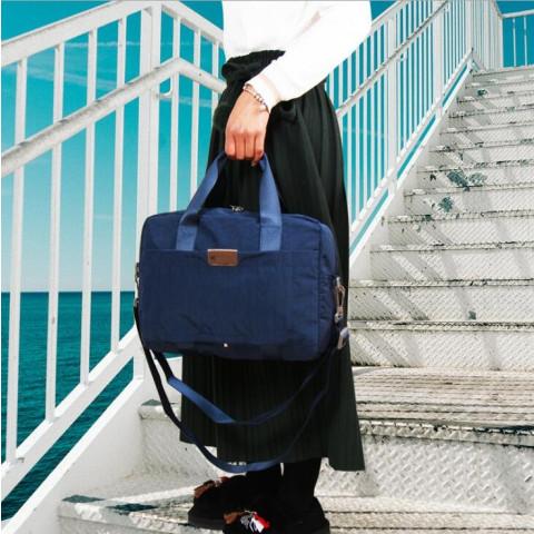 Nylon travel luggage bag