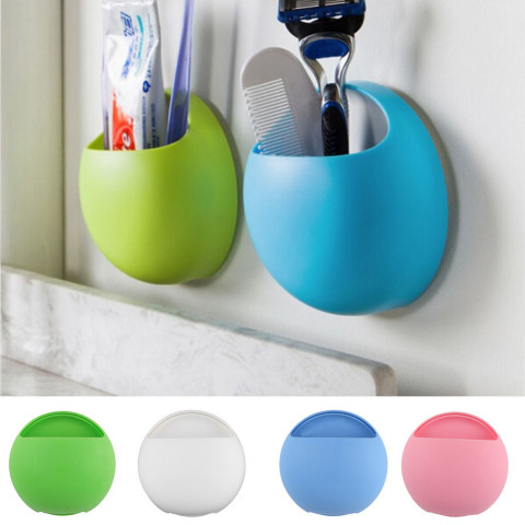 Toothbrush Suction Cups Holder