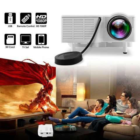 UC28+ Portable Home LED Projector