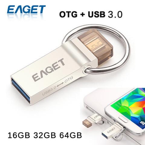 EAGET Official V90 OTG Smartphone Pen Drive