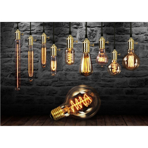 Retro Vintage Edison Bulb Light E27 40W