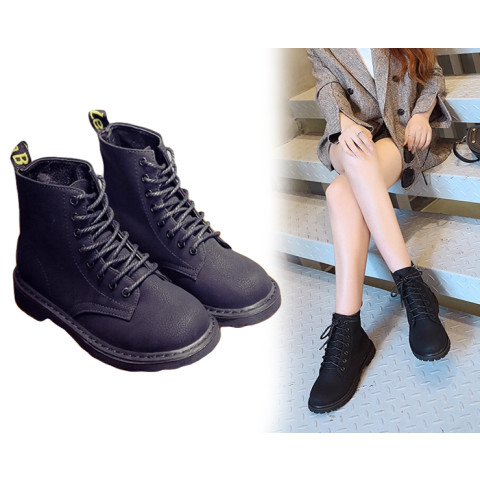 Fashion Lady Retro Martin Boots