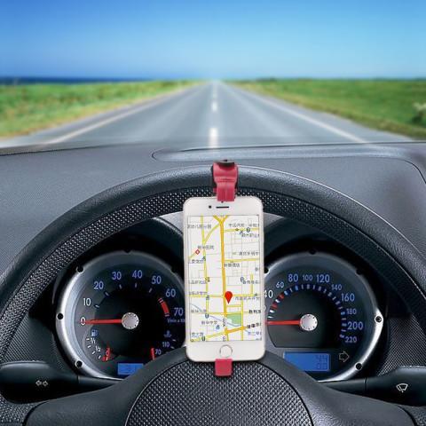 Universal Steering Wheel Cradle Holder Clip